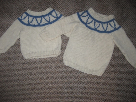 Knitting Pattern For Katie Morag Jumper : Katie Morag inspired jumper Doll and skirt can be added
