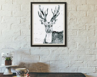 Magnificent Antlers Original Artwork