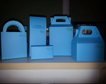 Sale Clearance Limited Quantity Favor Box/Bags Set