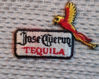Vintage Jose Cuervo Tequila Embroidered Patch - Iron On / Sew On Patch