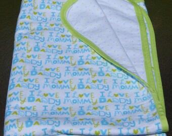 Receiving Blanket for Baby Boy
