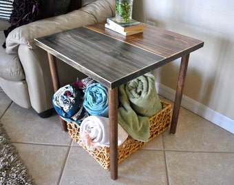 Wood Side Table - End Tables