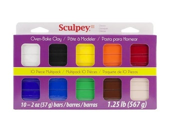 Sculpey 20 piece set (2 oz bars)