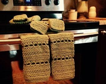 Sage Hand Towel & Washcloth Set