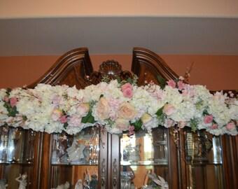 6' Wedding Arch, Peony wedding arch, Rustic wedding arch, rustic arch, wedding arch, Pink wedding arch