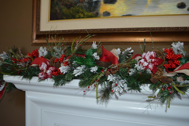 Garland For Fireplace Mantel Fireplace Mantel Garland Christmas