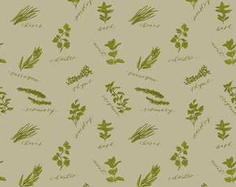 Herb Pattern Wrapping Paper