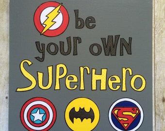 Superhero Room Decor, Superhero Wall Art, Superhero art, superhero nursery, superhero wall decor, superhero kids, superhero signs, superhero