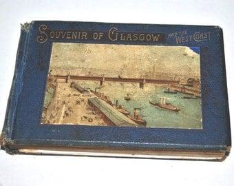 Rare Vintage Souvenir of Glasgow and the West Coast Guide Book