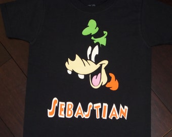 Personalized Goofy shirt (infant or toddler)