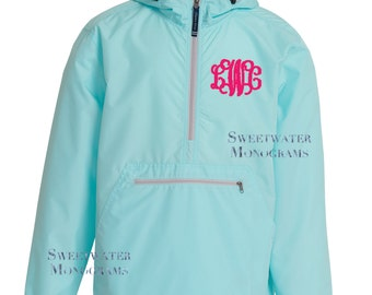monogram windbreaker – Etsy