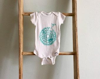 Hand Painted Wishful Baby Bodysuit