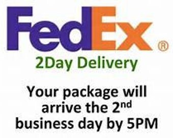 2nd Day Shipping (2 Business Days)