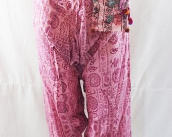 Harem Pants - Aladdin Pants - Yoga Pants - Harem Trousers - Ali baba Pants - Hammered - Men - Woman