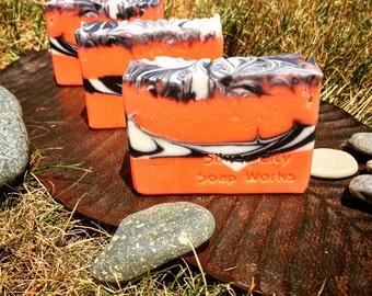 Patchouli & Orange Handmade Soap