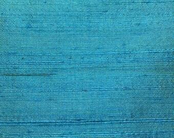 Silk Dupioni 100% Silk Turquoise
