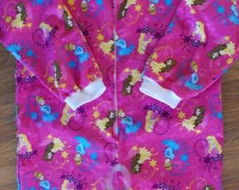 AB Footed Pajamas -Character Inspired, AB flannel footed pajamas, ab character footed pajamas