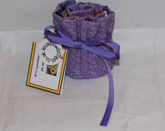 Lilac Crayon Roll