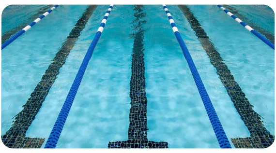 Lane lines swim swimmer swimming pool phone case iphone 4 5 for Dropped iphone in swimming pool