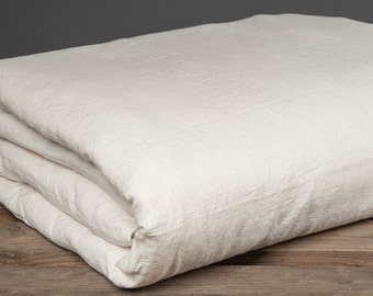 White Linen Duvet Cover - Linen Bedding - Off White Bedding - Duvet Cover Linen - Organic Bedding