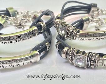 Graceful Moments, buckle bracelet ,angel sayings, angel bracelet, angel jewelry, leather strap with buckle,