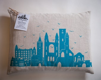 Screen printed St.Andrews Cushion Cover