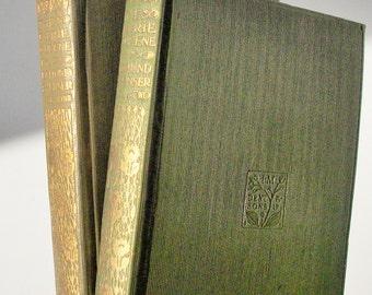 Faerie Queene by Edmund Spenser / 2 Gilt Volumes / Everymans Library / Good Condition