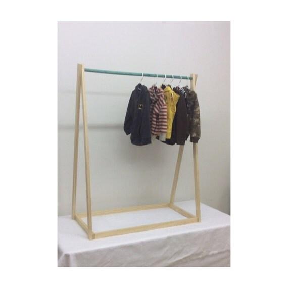 modern kids clothing rack dress up station by travelingelephants. Black Bedroom Furniture Sets. Home Design Ideas