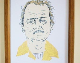 Mr blume,Rushmore, wes anderson,bill murray,print *free UK postage*