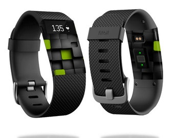 Skin Decal Wrap for Fitbit Blaze, Charge, Charge HR, Surge Watch cover sticker Cubes