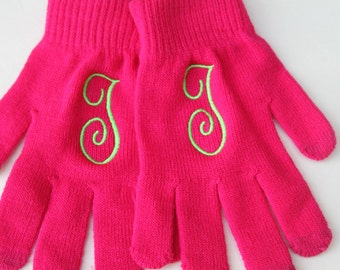 Texting Gloves monogrammed