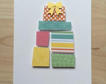 Present Birthday Cards, Happy Birthday Card Set | Set of 8