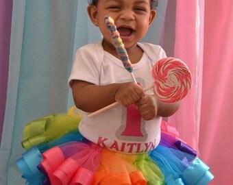 Candyland tutu set