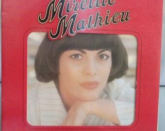 Mireille Mathieu, Alle Kinder dieser Erde, Vintage Record Album, Vinyl LP, French Singer, Torch Singer, Love Ballads, International Star