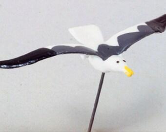 "DOLLHOUSE MINIATURES 2"" Flying Seagull Pins Set #G2049-G2049L"