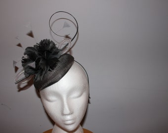 "Kentucky Derby  Fascinator - ""Bet On the Gray Horse"""