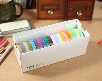 MT Washi Tape 20P Bright & Cool Color 20 different colors MT Masking Tape packed in a box (MT20P002)