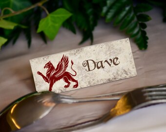 Harry Potter, Wedding Place Name Cards