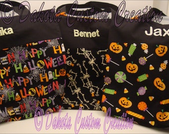 Halloween Trick or Treat Bag Tote