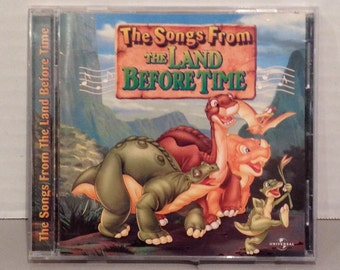1997 The Songs From The Land Before Time Soundtrack/Audio CD Pack