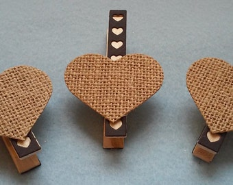 Decorated Clothespins set of 3