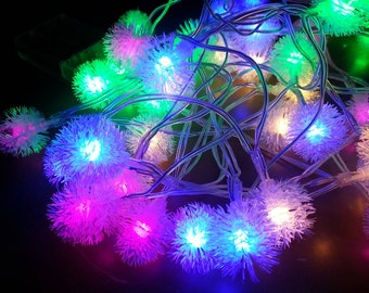 Dandelion Battery Operated 40LED Christmas Wedding String Fairy Lights