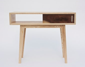 Items Similar To Charging Station Hall Console Table Available For Commission On Etsy