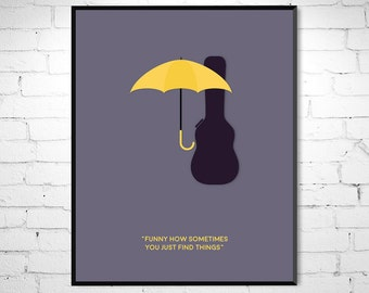 How I Met Your Mother - Inspired Minimalist movie poster