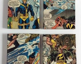 X-Men Coasters