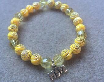 Childhood Cancer Awareness Bracelet