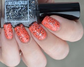 Gone Batty - Hand Blended Nail Lacquer by Firecracker Lacquer