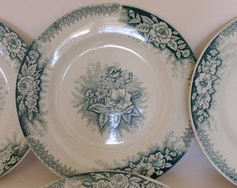 collection, saint Amand, plates dessert plates