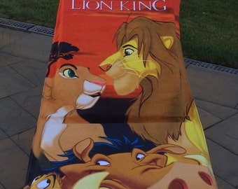 Lion King Family Beach Towel - Personalized Beach Towel