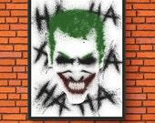 Splatter Painting - Joker...